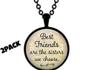 Jewelry - 2pk Best Friends pendant necklace